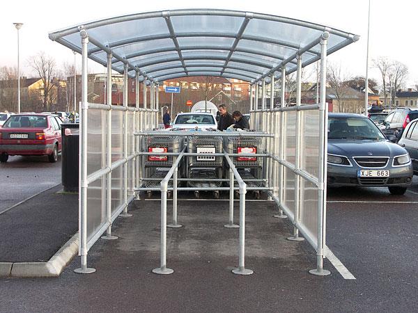 Du tittar på bilder från: Kundvagnsparkering, Coop Forum