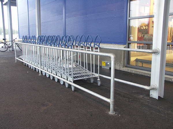 Du tittar på bilder från: Kundvagnsfållor, IKEA - Karlstad