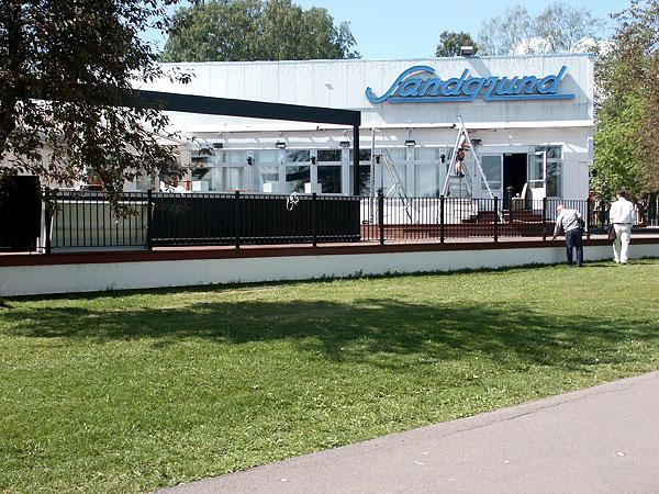 Du tittar på bilder från: Uteservering, Sandgrund - Karlstad